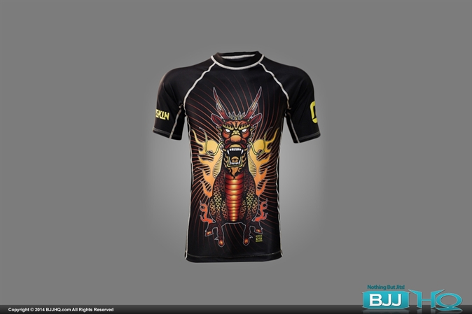 Combat Skin x Meerkatsu Combat Warrior Short Sleeve Rash Guard